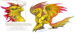 Valenth Dragons Flarion by thesilentrose