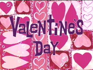 Valentine's Day SpongeBob