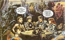 Leia, Luke, Valerian and Laureline