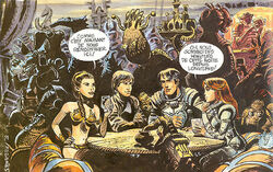 Leia, Luke, Valerian and Laureline