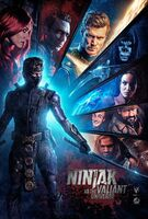 Ninjak Vs. The Valiant Universe Poster 2018