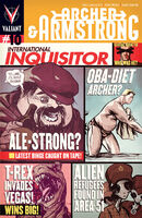 Archer and Armstrong Vol 2 10 Doe Variant