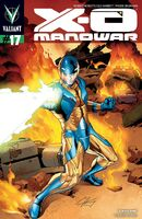 X-O Manowar Vol 3 17 Henry Variant