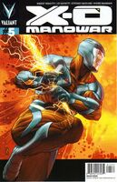 X-O Manowar Vol 3 5 Zircher Variant X-O Manowar