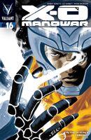 X-O Manowar Vol 3 16 Bullock Variant
