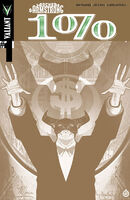 Archer and Armstrong The One Percent Vol 1 1 Way Too Gold Variant