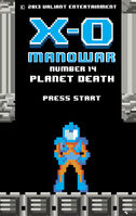 X-O Manowar Vol 3 14 8-Bit Variant