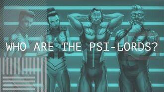 Who Are The Psi-Lords? (Valiant Comics)