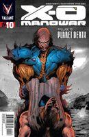 X-O Manowar Vol 3 10 2nd Printing
