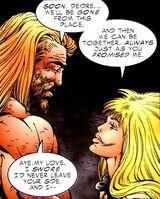 X-O Manowar Vol 1 45 004 Aric and Deidre