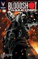 Bloodshot and HARD Corps Vol 1 16 ChrisCross Variant