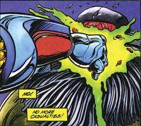 X-O Manowar Vol 1 28 005 Fist to Spider Alien