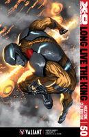 X-O Manowar Vol 3 50 Djurdjevic Variant