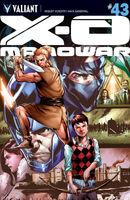 X-O Manowar Vol 3 43