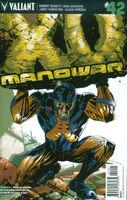 X-O Manowar Vol 3 42 Lieber Variant