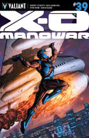 X-O Manowar Vol 3 39 Cafu Variant
