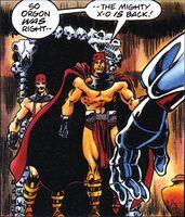 X-O Manowar Vol 1 35 006 Agannon