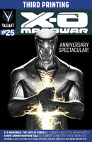 X-O Manowar Vol 3 25 3rd Printing