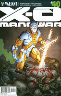 X-O Manowar Vol 3 40 Gill Variant