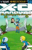 X-O Manowar Vol 3 38 Fabares Variant