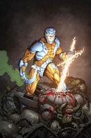 X-O Manowar Vol 3 40 Gill Variant Textless