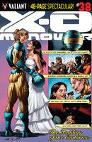 X-O Manowar Vol 3 38 Cafu Variant