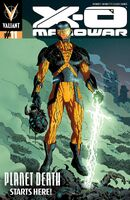 X-O Manowar Vol 3 11 Rivera Variant