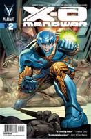 X-O Manowar Vol 3 2 Lozzi Variant