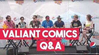 Valiant Comics Team Talks Comic Book Movies, Strong Female Characters, and More!