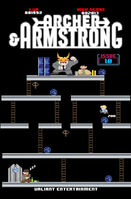Archer and Armstrong Vol 2 10 8-Bit Variant
