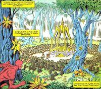 Solar Man of the Atom Vol 1 17 002 Spider Altar