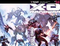 X-O Manowar Vol 3 34 Molina Variant Wraparound