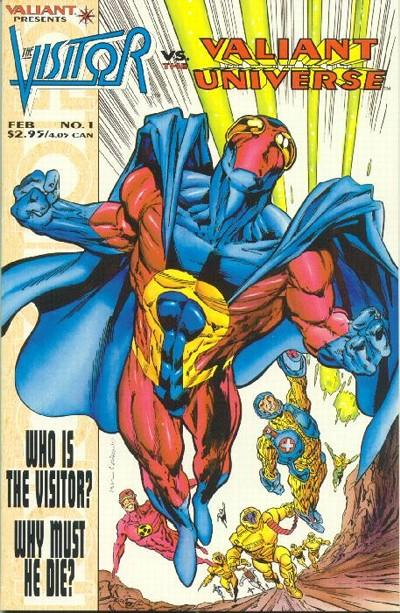 The Visitor vs. the Valiant Universe #2 (The Visitor (1995))