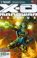 X-O Manowar Vol 3 41 Bernard Variant