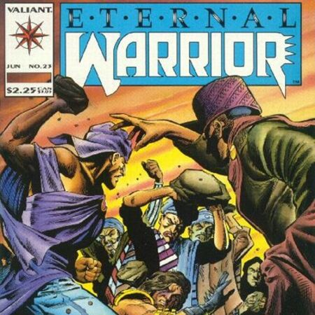 Eternal Warrior No.24 1994 Kevin van Hook /& Ted Halsted