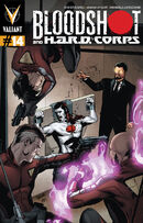 Bloodshot and HARD Corps Vol 1 14 Lupacchino Variant