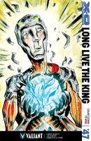 X-O Manowar Vol 3 47 Lemire Variant