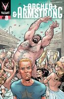 Archer and Armstrong Vol 2 8 Fowler Variant