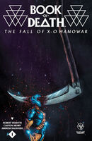 Book of Death The Fall of X-O Manowar Vol 1 1 Lee Variant