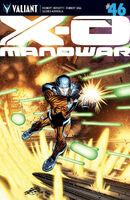 X-O Manowar Vol 3 46 ChrisCross Variant