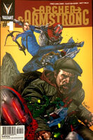 Archer and Armstrong Vol 2 1 Suayan Gold Variant