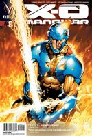 X-O Manowar Vol 3 8 Hairsine Variant