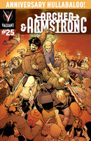 Archer and Armstrong Vol 2 25 Perez Variant