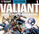Valiant Universe Handbook 2016 Vol 1 1