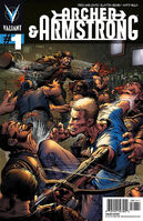 Archer and Armstrong Vol 2 1 Adams Variant