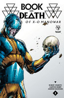 Book of Death The Fall of X-O Manowar Vol 1 1 Bernard Variant