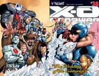 X-O Manowar Vol 3 38 Wraparound