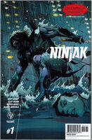 Ninjak Vol 3 1 Hairsine Variant