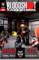 Bloodshot and HARD Corps Vol 1 15 8-Bit Variant