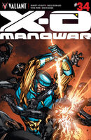 X-O Manowar Vol 3 34 Guice Variant